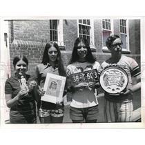 1971 Press Photo Students trip to Montana - nee13532