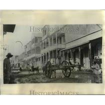 1929 Press Photo of the area where Marines killed native Haitians. - nee12202
