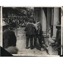 Press Photo James Marshall being carried to gallows for Capitol Punishment