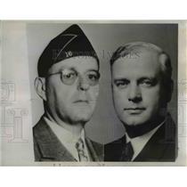 1935 Press Photo California State Pardons officials, Warren Atherton & Sykes