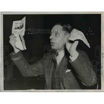 1938 Press Photo Former Communist Party Member John E. Ferguson
