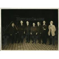 1920 Press Photo A group of Pension Office