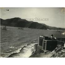 1925 Press Photo Starling portrait of bay