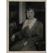 1922 Press Photo Miss Belle Norton, Deputy sheriff