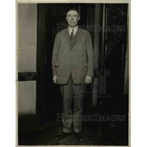 1925 Press Photo Captain Marvin Harrigan