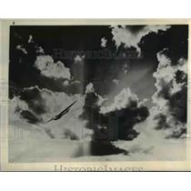 1943 Press Photo Glider from South Plains Army Flying School