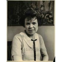 1924 Press Photo Eugenia Weed Personality Lady Boston