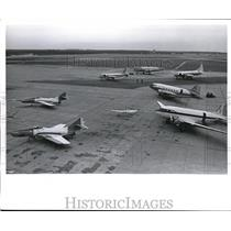 1961 Press Photo Part of FAA at Atlantic City