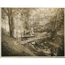 1923 Press Photo Tacoma Suburban park in Washington
