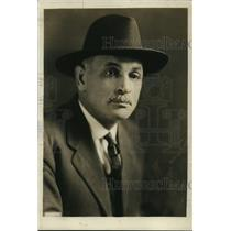 1922 Press Photo Charles Barrett President National Families Union