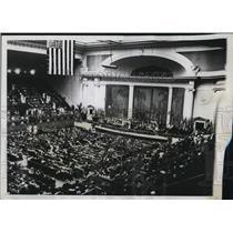 1934 Press Photo 43rd Annual D.A.R Continental Congress open in Washington D.C