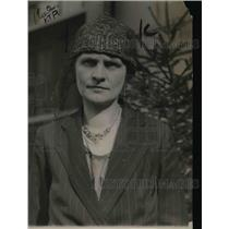 1920 Press Photo Mrs.W.A.King ,first witness before the Special Committee