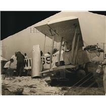 1926 Press Photo of plane that will e conducting a parachute test.