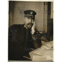 1918 Press Photo Commandant W.B. Franklin