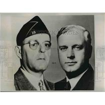 1935 Press Photo Parole Board Members, Warren Atherton and Frank Sykes