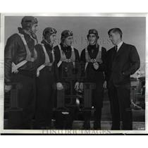 1941 Press Photo Henry A. Wallace, W,L. Massengill, F.R. Whatley and JH Pate