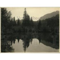 1926 Press Photo Beaver Lake in Rocky Mountain National Park
