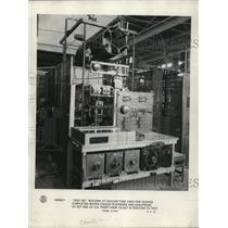 1928 Press Photo A electricity plant generator room