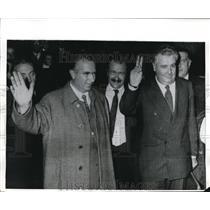1970 Press Photo Loris Fortuna and Antonio Basini Divorce in Italy authors