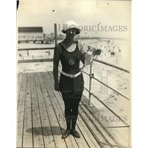 1924 Photo Miss Adele Nolde Named Best All Around Athelete Ocean City NJ