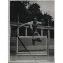 1920 Press Photo Wilfred Kent Hughes, Australian champion hurdler