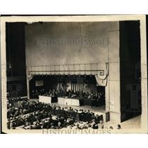 1924 Press Photo American Federation of Labor in session in El Paso, TX