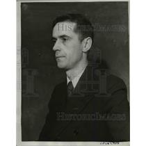 1934 Press Photo San Francisco Chronicle, Royce Brier awarded the Pulitzer Prize