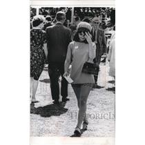 1967 Press Photo Ascot, England Bina Shivdasani - nee30824