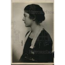 1919 Press Photo Ms. Alice Roque, Washington Debutantes, daughter of Mark Roque,