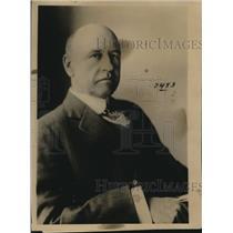 1918 Press Photo Mark L Requa of San Francisco fuel admin oil division