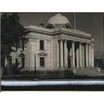 1927 Press Photo Reno Court House Temple of Dissilusionment