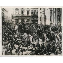 1933 Press Photo Funeral of Sert Hinkler, famous Australian Airman