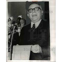 1970 Press Photo Mariano Christian Democratic Party Leader in Rome Italy