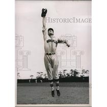 1936 Press Photo Dick Siebert rookie 1st baseman Brooklyn Dodgers - nes26963