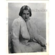 1931 Press Photo Miss Carol Deis of Dayton, Ohio