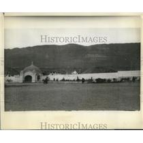 1928 Press Photo elementary at Antofangasta Chile visit President Hoover