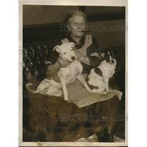 1926 Press Photo Former Broadway star Helen G Swasey now broke