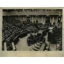 1929 Press Photo View of House of Representatives of Japan on 54th Session