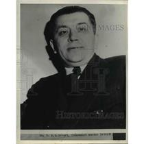 1938 Press Photo B G Gebert - nee24306