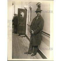 1924 Press Photo Nikolaio Sokoloff conductor of Cleveland Orchestra