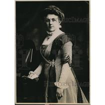 1919 Press Photo Mrs. Lloyd George, the excellent compaigner