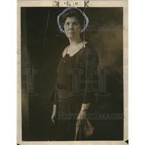 Press Photo Mrs Jihn McDowell murdered by her son Frank McDowell
