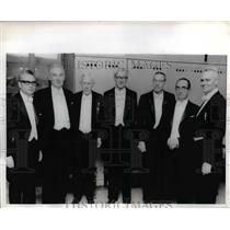 1969 Press Photo of the winners of the 1969 Nobel Prize.