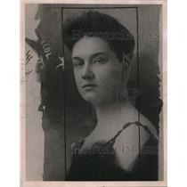 1920 Press Photo Divorced wife of Samuel Lopius, who was slain in his apartment