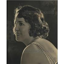 1923 Press Photo Nonette Price musician to perform
