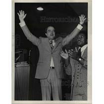 1972 Press Photo Sargent Shriver if Shaw High School