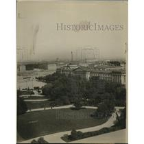 1918 Press Photo Air view of Admirality building Univ of Ostrof Petroguard