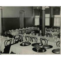 1977 Press Photo Ward H Dining Hall