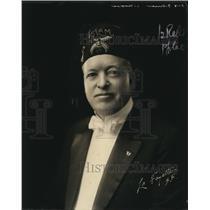 1922 Press Photo George Filmer San Francisco Shriners