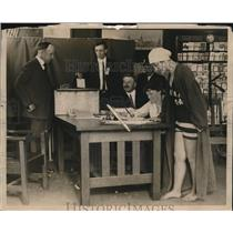1923 Press Photo female voters - nee21050